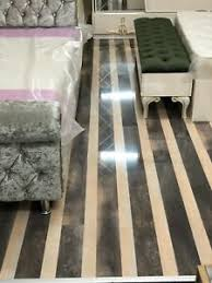 grey and cream striped 12mm thick
