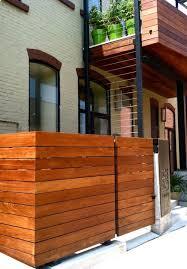 Trash Bin Enclosure Modern Fencing Pinterest Trash Bins And Trash Can Storage Outdoor Outdoor Trash Cans Outdoor Improvements