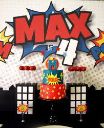 Super Hero Birthday Party Ideas Cumpleanos De Los Vengadores