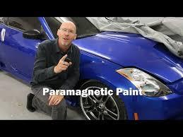 paramagnetic color changing paint