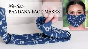 How To Turn A Bandana Into A Face Mask ...