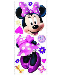 York Wallcoverings Minnie Bow Tique Peel And Stick Giant Wall Decal Reviews All Wall Decor Home Decor Macy S