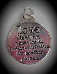 small silver plated meaning of love
