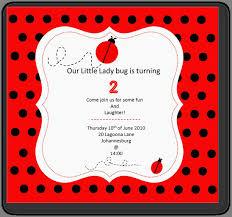 Ladybug Invitation Template Invitaciones Fiesta Consejos