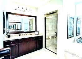 frame mirror in bathroom diy