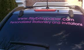 Paper Paint And Pine Car Decal