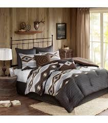 southwestern style comforter set browns