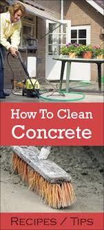 concrete care cleaning plus