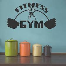 Fitness Gym Vinyl Wall Decal Interior Home Decoration Wall Sticker For Fitness Room Art Walldecals Living Room Vinyl Mural Vinyl Wall Decals Kids Vinyl Wall Decor From Onlinegame 11 67 Dhgate Com