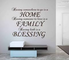 Home Family Blessing Wall Decal Sticker Wall Decal Wall Art