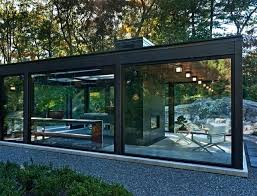modern glass house waxed info