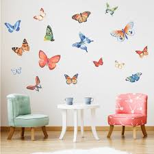 Butterfly Fantasy Wall Decals Labeldaddy