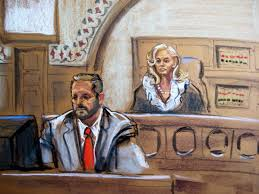 Court sketches from Boston bomber case ...