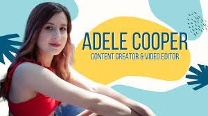 Sizzle Reel - Adele Cooper - YouTube