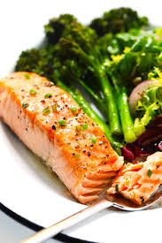 Baked Salmon | Recipe