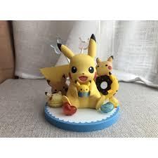 Đồ Chơi Thú Nhồi Bông Hình Pikachu Đáng Yêu Cho Bé