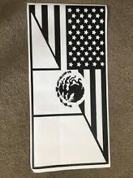 3rd Gen Toyota 4runner American Mexican Flag Decals Stickers Vinyl Window Rear Ebay
