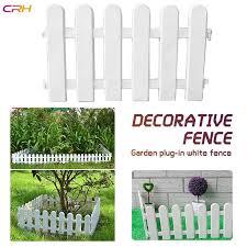 Crh Plastic Home Garden Fence Christmas Decoration Tree Fence Xmas Decor Enclosure Shopee Philippines
