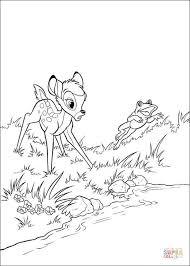 Bambi En Kikker Kleurplaat Kleurplaat Kleurplaatje Nl