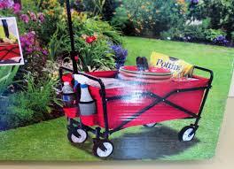 smart garden 4 5 cu ft poly yard cart