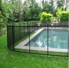 China Vinyl Removable Retractable Fence For Swimming Pool Safety Baby Fence Outdoor Baby Barrier Fence Pvc Coated Polyester Mesh Pool Fence China Swimming Pool Safety Fence And Pool Barrier Fence Price