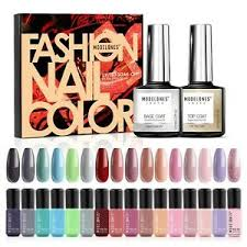 modelones gel nail polish set 16
