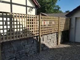 Square Trellis Fence Panel Denbigh Timber Products