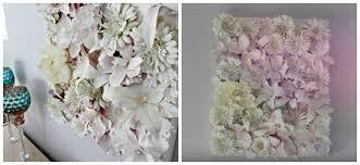 diy 3d flower canvas wall art