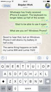 Download WhatsApp Messenger 2.11.14 with iPhone 6 Support
