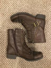 g by guess women s berlyn combat boots