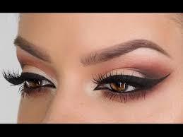 smoky peach prom makeup intense smoky