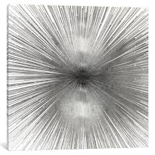 Shop iCanvas Radiant Silver by Abby Young Canvas Print - Overstock ...