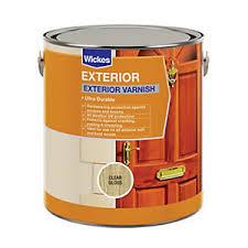 Varnish Exterior Paint Wickes Co Uk