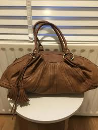 leather tote handbag shoulder