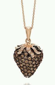 levian chocolate diamond pendant in