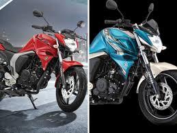 yamaha fz bikes yamaha launches two