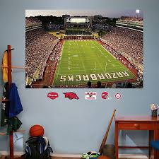 Fathead University Of Arkansas Stadium Mural Wall Graphic Bed Bath Beyond