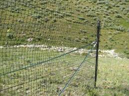 0424 2838 Mtdc Fencing Out Wildlife Plastic Mesh Fences And Electric Fences Monitored By Satellite Telemetry