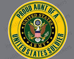 Ar 2255 Proud Grandparent Of A Army Soldier Military Bumper Etsy