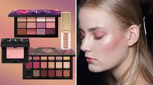 rose gold eyeshadows and eye palettes