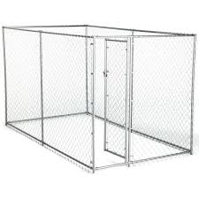 American Kennel Club 6 Ft X 10 Ft X 6 Ft Chain Link Kennel Kit 308595akc The Home Depot