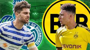 Fußball, DFB-Pokal: Der MSV Duisburg will mit einer
