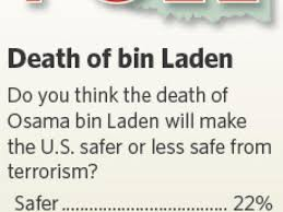 State poll respondents say bin Laden's death has no effect on safety |  Politics | tulsaworld.com