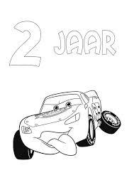 Kleurplaten En Zo Kleurplaten Van Cars Verjaardag