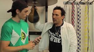 Aaron Schoenke interviews Jason David Frank the Green Ranger - YouTube