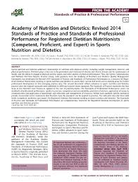 pdf academy of nutrition and tetics