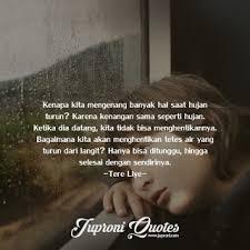 kata kata caption tentang hujan dan kenangan quotes