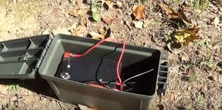 this diy portable solar generator is