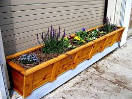 wooden planter box plans in your garden