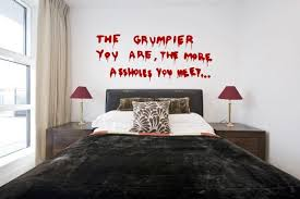 Banksy Graffiti The Grumpier You Are Large Wall Stickers Removable Decals Uk Ebay